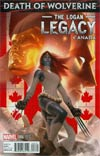 Death Of Wolverine Logan Legacy #6 Cover B Variant Canada Cover