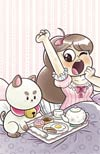 Bee And Puppycat #7 Cover C Incentive Geneva Hodgson Virgin Variant Cover