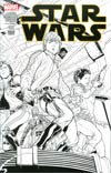 Star Wars Vol 4 #1 Cover U Incentive Joe Quesada Sketch Variant Cover