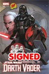 Darth Vader #1 Cover U DF Exclusive Greg Land Connecting Color Variant Cover Signed By Greg Land (Part 2 of 3)