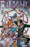 Angela Asgards Assassin #3 Cover C Incentive David Lafuente Variant Cover