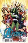 A-Force #1 Cover A Regular Jim Cheung Cover (Secret Wars Warzones Tie-In)
