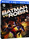 Batman vs Robin Blu-ray DVD