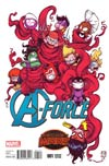 A-Force #1 Cover C Variant Skottie Young Baby Cover (Secret Wars Warzones Tie-In)