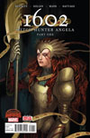1602 Witch Hunter Angela #1 Cover A Regular Stephanie Hans Cover (Secret Wars Warzones Tie-In)