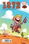 1872 #1 Cover B Variant Skottie Young Baby Cover (Secret Wars Warzones Tie-In)