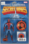 Amazing Spider-Man Renew Your Vows #1 Cover F Variant John Tyler Christopher Action Figure Cover (Secret Wars Warzones Tie-In)