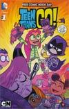 FCBD 2015 Teen Titans Go / Scooby-Doo Team-Up
