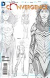 Convergence #2 Cover D Incentive David Finch Wonder Woman Sketch Variant Cover