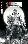 """Bloodshot Reborn #1 Cover I Incentive Lewis LaRosa Black & White Cover  <font color=""""#FF0000"""" style=""""font-weight:BOLD"""">(CLEARANCE)</FONT>"""