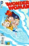 Wonder Woman Vol 4 #42 Cover B Variant Ben Caldwell Teen Titans Go Cover