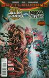 Age Of Ultron vs Marvel Zombies #2 Cover A Regular Steve Pugh Cover (Secret Wars Battleworld Tie-In)