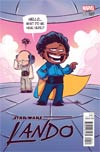 Star Wars Lando #1 Cover B Variant Skottie Young Baby Cover