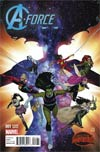 A-Force #1 Cover E Incentive Jorge Molina Variant Cover (Secret Wars Warzones Tie-In)