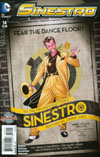 Sinestro #14 Cover B Variant Emanuela Lupacchino DC Bombshells Cover