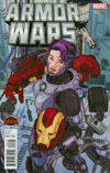 Armor Wars #2 Cover B Incentive Variant Cover (Secret Wars Warzones Tie-In)