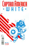 Captain America White #1 Cover B Variant Skottie Young Baby Cover