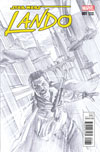 Star Wars Lando #1 Cover J Incentive Alex Ross Sketch Variant Cover