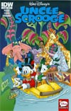 Uncle Scrooge Vol 2 #4 Cover C Incentive Thom Pratt Disney Legacy Fantasyland 60th Anniversary Variant Cover