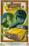 Cyrus Perkins And The Haunted Taxi Cab #1 Cover B Variant Casey Castille 70s Movie Poster Cover