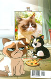 "Grumpy Cat #1 Cover I Rare Steve Uy Art & Photo Virgin Cover  <font color=""#FF0000"" style=""font-weight:BOLD"">(CLEARANCE)</FONT>"