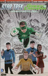 Star Trek Green Lantern #1 Cover P 2nd Ptg Gabriel Rodriguez Variant Cover