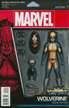 All-New Wolverine #1 Cover C Variant John Tyler Christopher Action Figure Cover