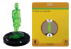 "DC HeroClix War Of Light Month 5 Green Nurse Construct 3D Object With Card  <font color=""#FF0000"" style=""font-weight:BOLD"">(CLEARANCE)</FONT>"