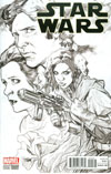 Star Wars Vol 4 #9 Cover C Incentive Stuart Immonen Sketch Cover