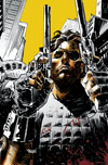 Escape From New York #10 Cover B Incentive Tim Bradstreet Virgin Variant Cover