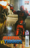 Deadpool vs Thanos #2 Cover D Retailer Summit 2015 Variant Cover
