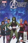 A-Force Vol 2 #1 Cover A Regular Jorge Molina Cover