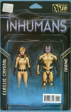 All-New Inhumans #1 Cover C Variant John Tyler Christopher Action Figure Two-Pack Cover