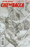 Chewbacca #1 Cover G Incentive Alex Ross Sketch Variant Cover