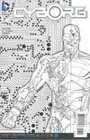 Cyborg #7 Cover B Variant Derec Donovan Adult Coloring Book Cover