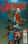 All-New All-Different Avengers #1 Cover E Incentive Mahmud Asrar Variant Cover