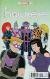 All-New Hawkeye Vol 2 #2 Cover B Incentive Fred Hembeck Variant Cover
