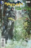 Batman Teenage Mutant Ninja Turtles #4 Cover A 1st Ptg Regular Freddie E Williams II Cover
