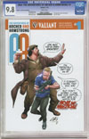 A&A #1 Cover D Variant Clayton Henry Valiant x CGC Replica Cover