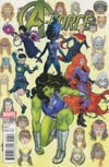 A-Force Vol 2 #1 Cover E Incentive Victor Ibanez Variant Cover