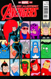 All-New All-Different Avengers #3 Cover B Incentive Fred Hembeck Variant Cover