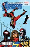 All-New All-Different Avengers #4 Cover B Incentive Bobby Rubio Deadpool Variant Cover