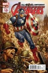 All-New All-Different Avengers #4 Cover C Incentive Mark Brooks Captain America 75th Anniversary Variant Cover