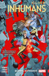 All-New Inhumans Vol 1 Global Outreach TP