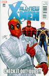 All-New X-Men Vol 2 #4 Cover B Incentive Deadpool Variant Cover