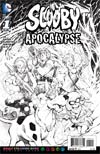 Scooby Apocalypse #1 Cover C Variant Jim Lee Adult Coloring Book Cover