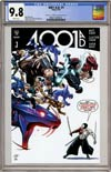 4001 AD #1 Cover D Variant Clayton Henry Valiant x CGC Replica Cover