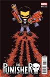 Punisher Vol 10 #1 Cover D Variant Skottie Young Baby Cover