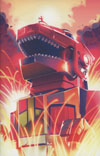 Mighty Morphin Power Rangers (BOOM Studios) #1 Cover F Incentive Goni Montes Zord Virgin Variant Cover