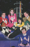 Mighty Morphin Power Rangers (BOOM Studios) #1 Cover G Incentive Kevin Wada Virgin Variant Cover